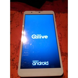 Tablette Qilive Q4 Blanc MID 7 quot; V4 3G 8 Go Android 4.4