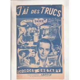 """j'ai des trucs du film """"amour& cie"""" par Georges Guétary"""