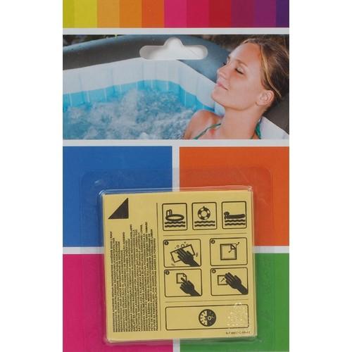 Kit r paration gonflable piscine bestway patchs de r paration aqua blanc 82516 acheter pas cher - Kit reparation matelas gonflable ...