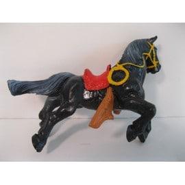 figurine en plastique : zorro sur son cheval, tornado ( bully / west germany ) d'occasion  Livré partout en France