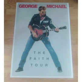 poster george michael the faith tour