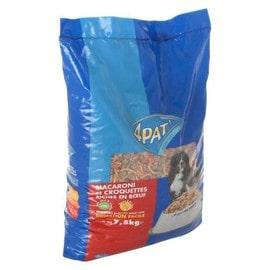 Image 4pat Macaroni Et Croquettes Riches En Boeuf Pour Chien (X1)