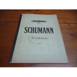PARTITION pour piano.-KREISLERIANA.- OPUS 16.- Robert SCHUMANN