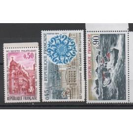 France 1974: Lot de 3 timbres N° 1791, 1792 et 1798.
