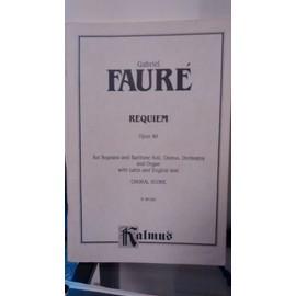 Gabriel Fauré, Requiem, Op. 48