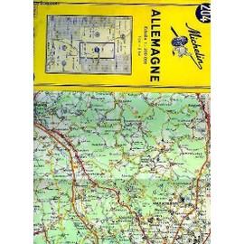 Carte Michelin N°204 d'occasion  Livré partout en France