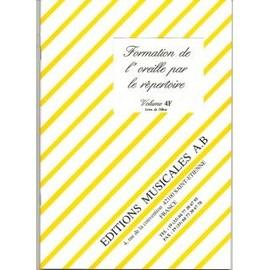 Formation de l'oreille par le répertoire - Volume 4F - Livre de l'élève