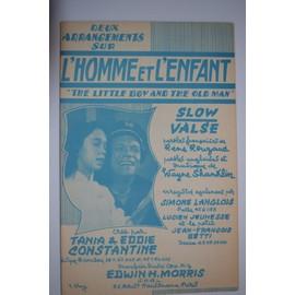 """Deux arrangements sur l'homme et l'enfant """"The little boy and the old man"""" - Slow Valse"""