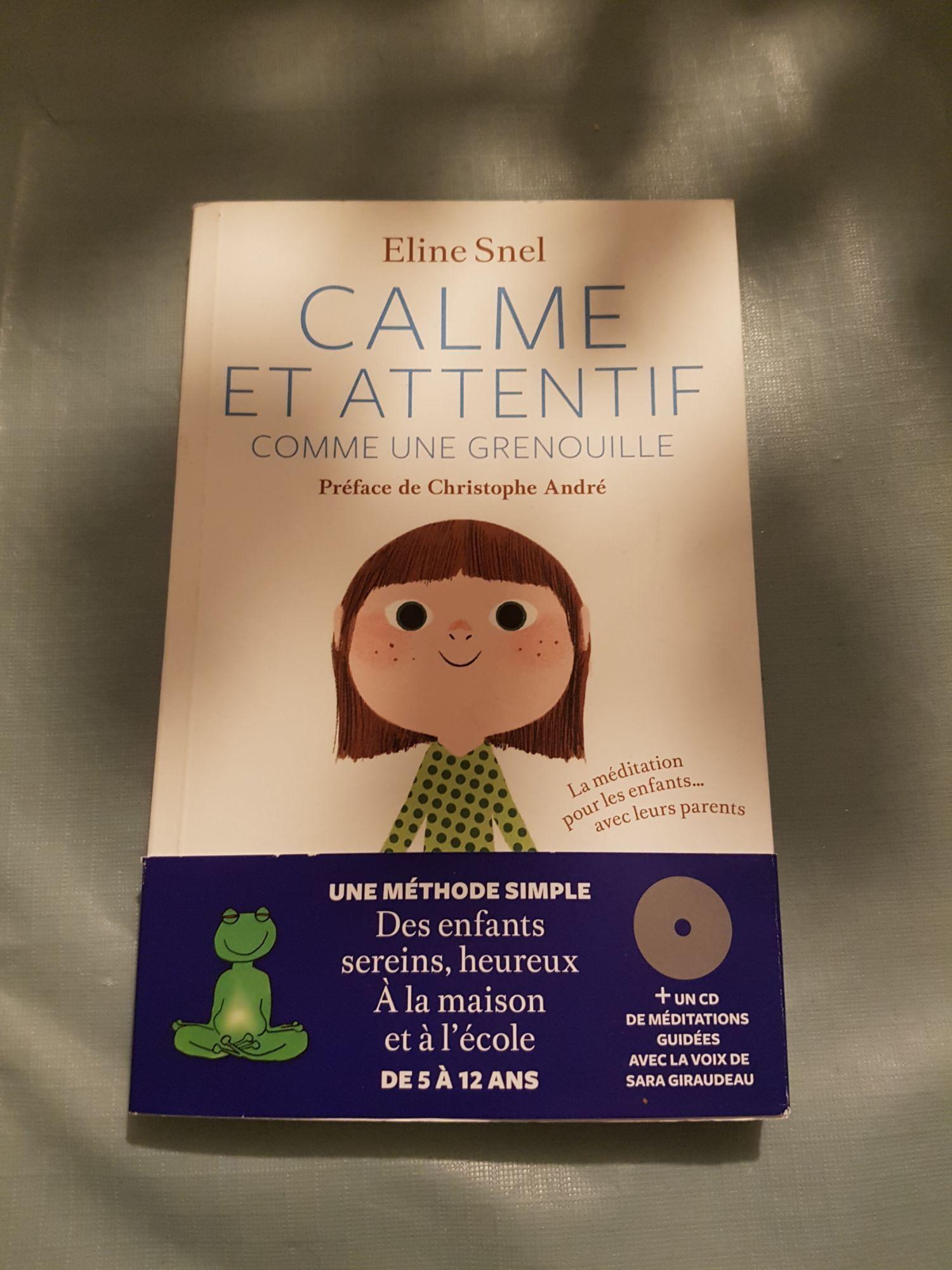 Calme et attentif comme une grenouille + CD