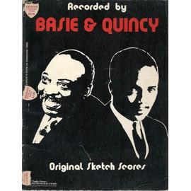 recorded by basie & quincy - original sketch scores