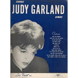 songs judy garland sings