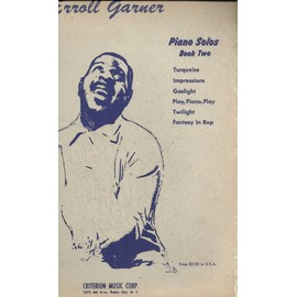 erroll garner piano solos book two
