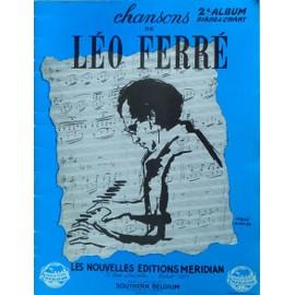 Léo Ferré 2 ème album piano et chant 11 titres 1953/55