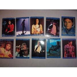 10 cartes Michael jackson