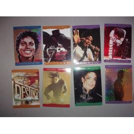 8 cartes michael jackson