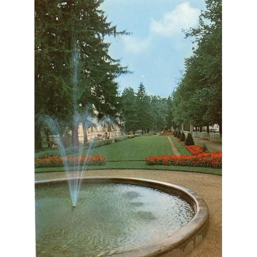 Carte postale couleur xx eme siecle n° 14454 <strong>gap</strong> hautes alpes jardin public la pepiniere societe editions de france