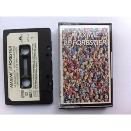 maxime le forestier ne quelque part - Cassette audio