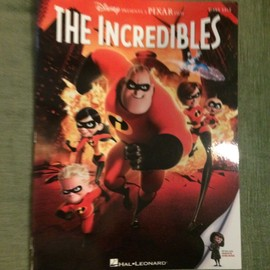 The Incredibles Les Incroyables bande originale partition chant piano accords