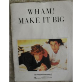 WHAM GEORGE MICHAEL SONGBOOK SHEET MUSIC PARTITIONS 7 SONGS