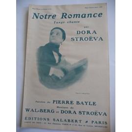Notre Romance Dora Stroëva tango chanté