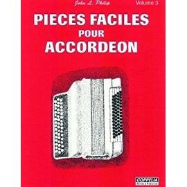 pièces faciles pour accordéon volume 3