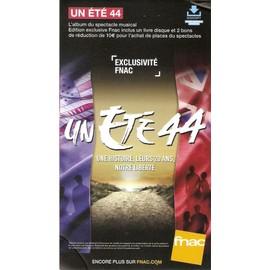 PLV cartonnée rigide 14x25cm comédie musicale UN ETE 44 2016 FNAC