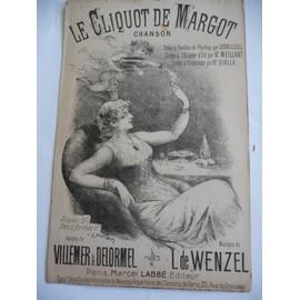 LE CLIQUOT DE MARGOT Villemer-Delormel de Wenzel