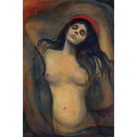 Edvard Munch Poster Reproduction - Madonna, 1894-1895 (180x120 cm)