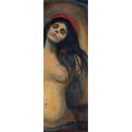 Edvard Munch Poster Reproduction - Madonna, 1894-1895 (158x53 cm)
