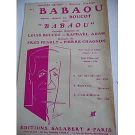 BABAOU Biguine Fred Pearly Boucot