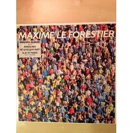 Vinyle Maxime le Forestier, être né quelques part, Ambalaba.. 1988 Editions Coïncidences, Polydor, 33 tours