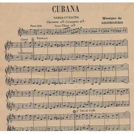 CUBANA - AMOUR DE SAMBA