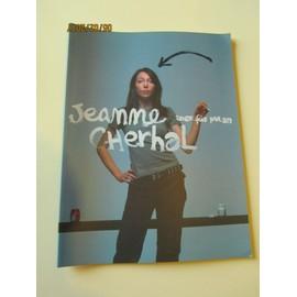 Livre de partition de musique piano guitare - Chant Jeanne Cherhal