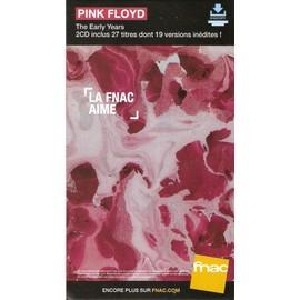 PLV cartonnée rigide 14x25cm PINK FLOYD the early years  2016 FNAC