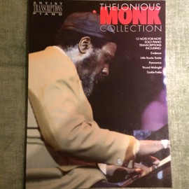 Thelonious Monk collection 12 solos pour piano transcrits note a note partition score