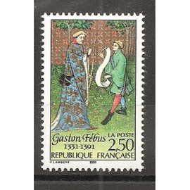 2708 (1991) Gaston Fébus N** (cote 1,25e) (0945)