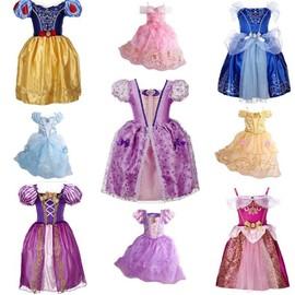 2523d15a08921 Costume Deguisement Robe Princesse Blanche Neige Belle Raiponce Belle Au  Bois Dormant Sofia Taille 3 Ans