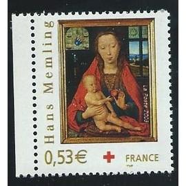 CROIX ROUGE 2005 VIERGE A L ENFANT N°3840