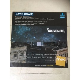 david BOWIE LAZARUS PLV FNAC GRAND FORMAT 2016