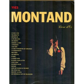 Yves Montand livre d'or