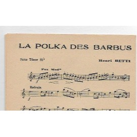 LA POLKA DES BARBUS