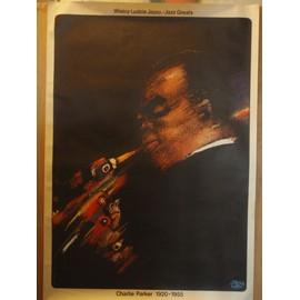 Charlie Parker - Affiche originale polonaise roulée - Jazz