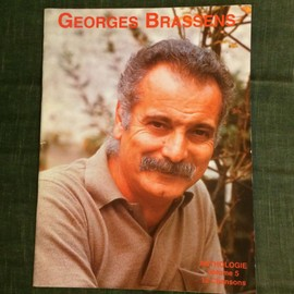 Georges Brassens Anthologie volume 5 12 chansons score partition chant piano accords