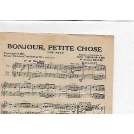 Bonjour Petite Chose - La Guitarita