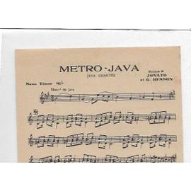 Metro-Java