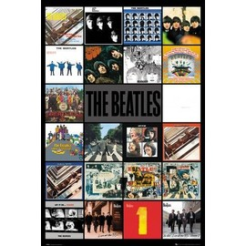 The Beatles Poster - Albums (91x61 cm)