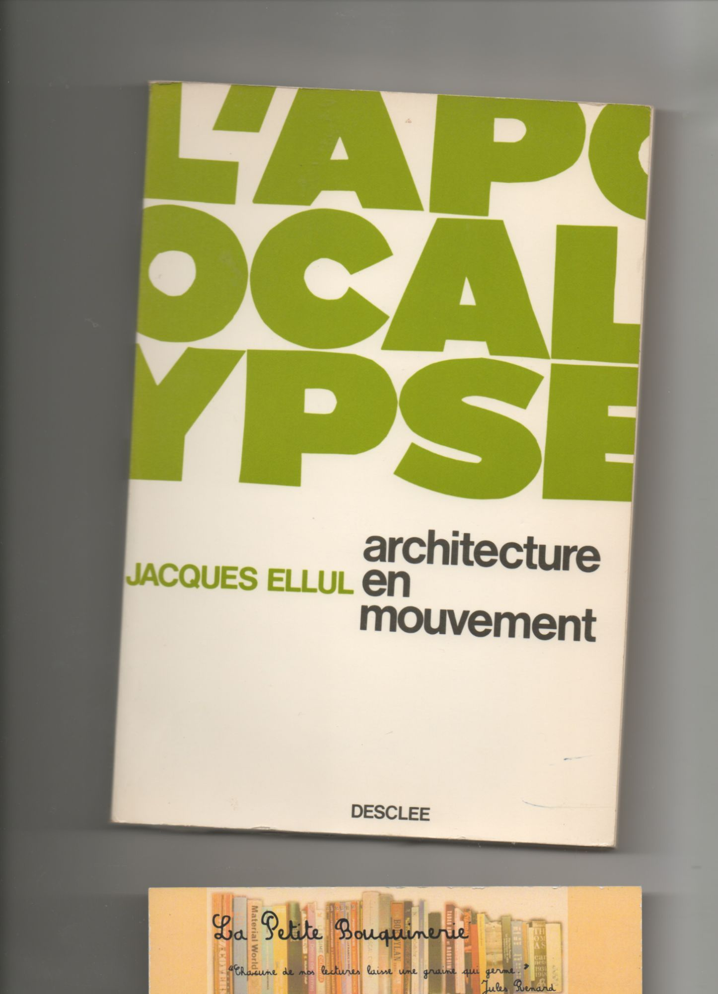 L'Apocalypse, architecture en mouvement