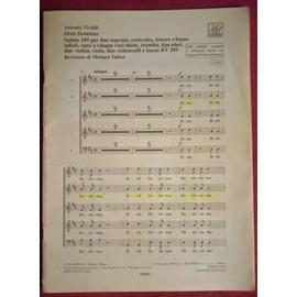 Vivaldi Dixit Dominus RV 595