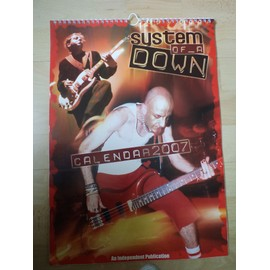 Calendrier 12 Posters System Of A Down SOAD Rock Métal Hard Rock