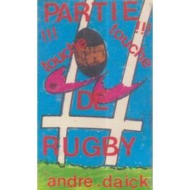 andré daick k7 audio la partie de rugby (touche touche)